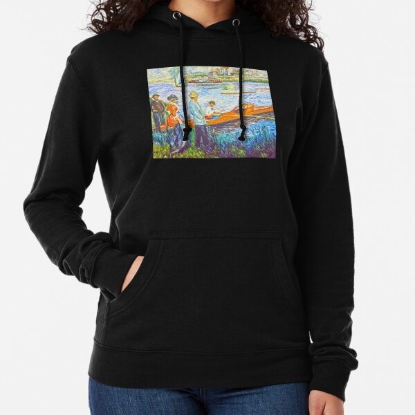 oarsmen at chatou Lightweight Hoodie