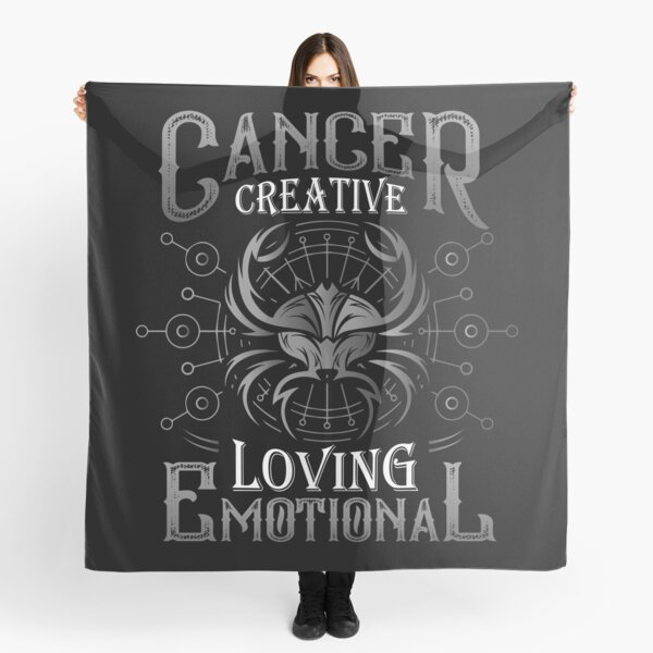 Creative Horoscope Inspired Hoody- Cancer: Loyal Emotional Intuitive Caring Protective