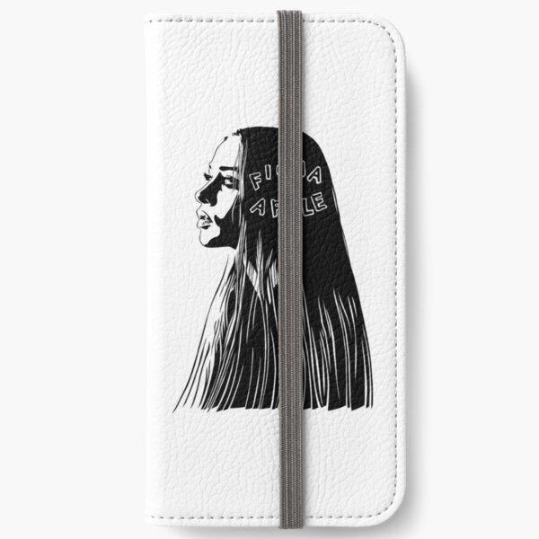 Fiona Apple black iPhone Wallet