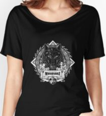 Pride of the Forest Wolf Mononoke Geek Line Artly Women's Relaxed Fit T-Shirt