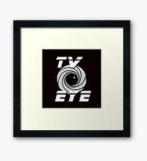 TV Eye Framed Print