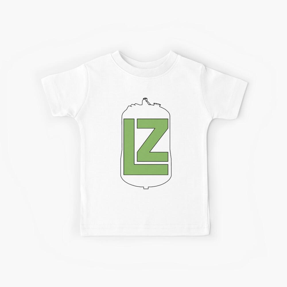 Das LZ-Kollaborationslogo Kinder T-Shirt
