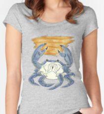 Krabbe Clambake Tailliertes Rundhals-Shirt