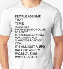Wibbly Wobbly, Timey-Wimey....Stuff T-Shirt