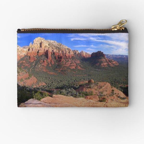 Sedona Red Rock Grandeur Panorama Zipper Pouch