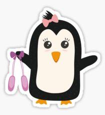Penguin dancer   Sticker
