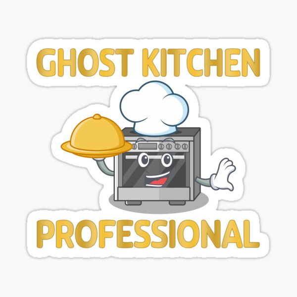 Ghost Kitchen Professional Sticker