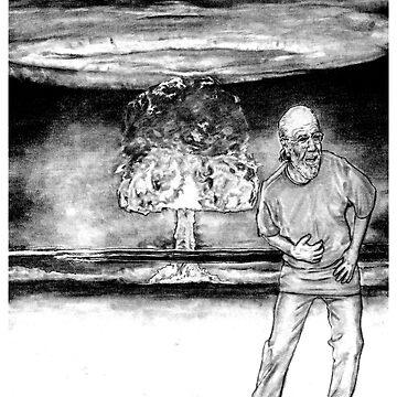 George Carlin by walterdoe