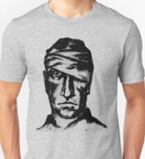 Hurt Man Portrait T-Shirt