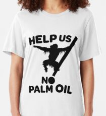No Palm Oil Slim Fit T-Shirt