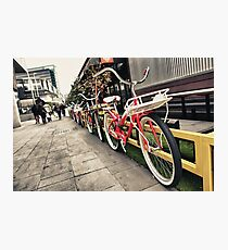 South Wharf Cycles Photographic Print