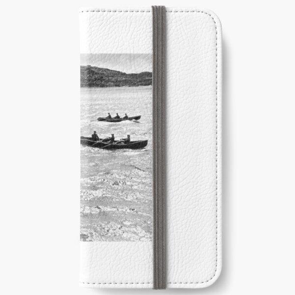 Inisheer Aran Island Currach boats iPhone Wallet