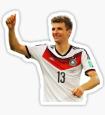 Thomas Muller - Germany (Sticker) Sticker