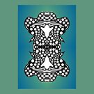 Ambigram Dreams -Upside-Down Art, Topsy-Turvy Art  by L R Emerson II