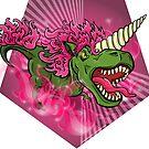 Mutant Zoo - Unicornus Rex by dezignjk