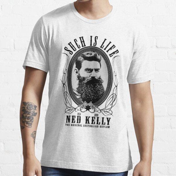 Ned Kelly - Original Outlaw Design Essential T-Shirt