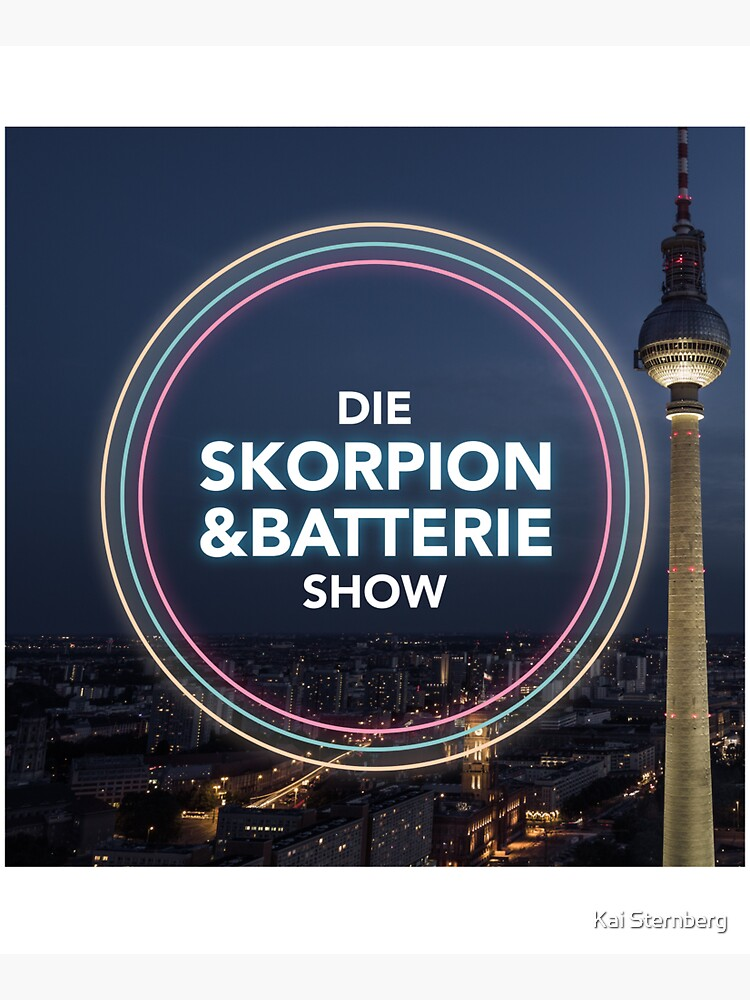 The Scorpio and Battery Show - Podcast Merchandise by KaiSternberg