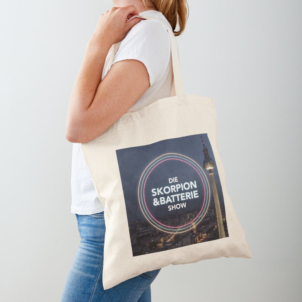 The Scorpio and Battery Show - Podcast Merchandise Tote Bag