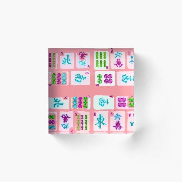 Pretty in Pink Acrylic Block