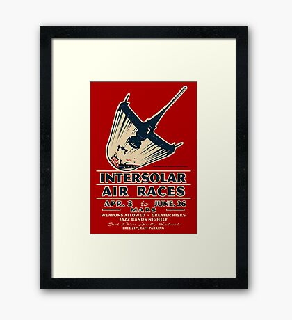 Intersolar Swordfish Print Framed Print