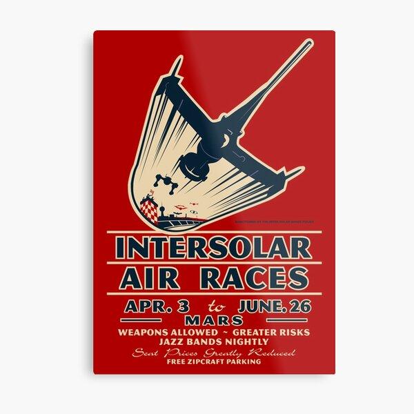 Intersolar Swordfish Print Metal Print
