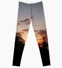 Fire in the Sky Leggings