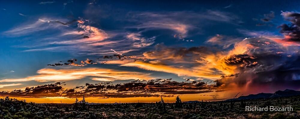 Storm over Smith Rock by Richard Bozarth