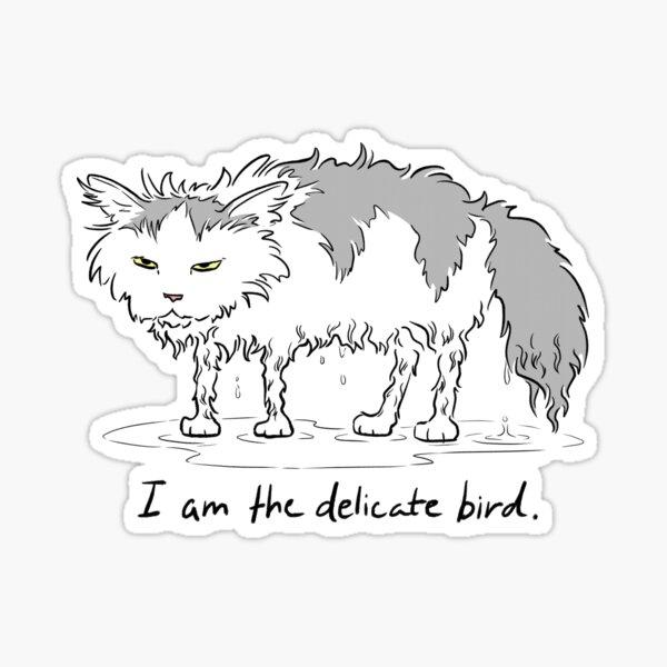 The Delicate Bird Sticker