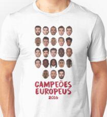 Portugal - Campeões Europeus 2016 Unisex T-Shirt