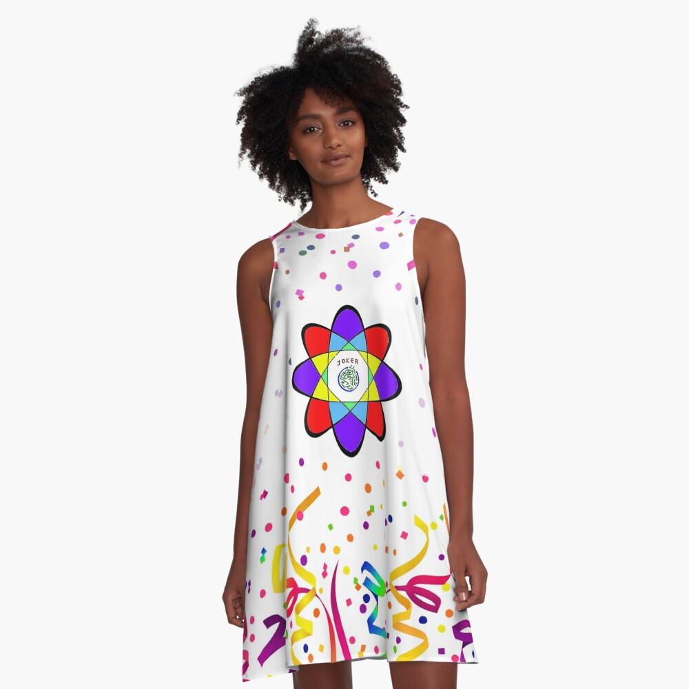 Atomic Joker A-Line Dress