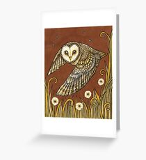 Silent Wings Greeting Card