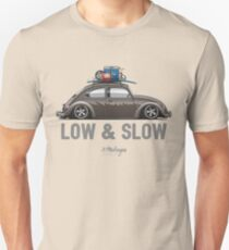 VW Beetle Low & Slow (brown) T-Shirt