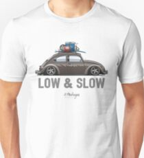 Beetle Low & Slow (brown) Unisex T-Shirt