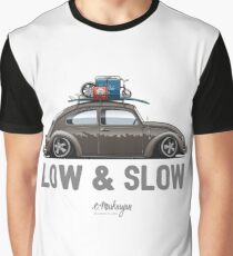 Beetle Low & Slow (brown) Graphic T-Shirt