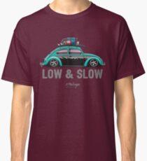 VW Beetle Low & Slow (aquamarine) Classic T-Shirt