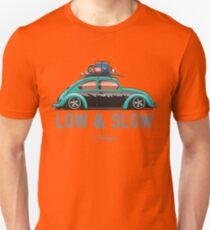 VW Beetle Low & Slow (aquamarine) T-Shirt
