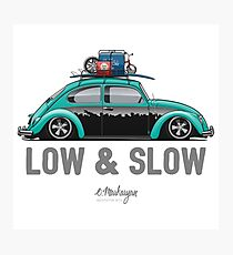 Beetle Low & Slow (aquamarine) Photographic Print