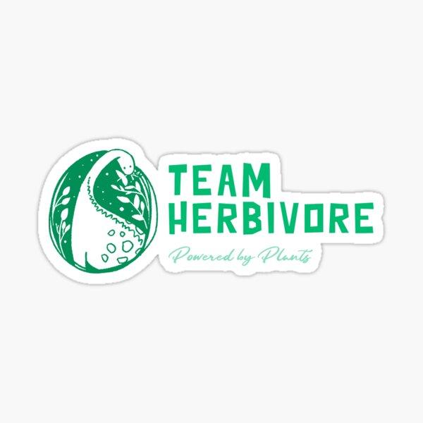 Team Herbivore Sticker
