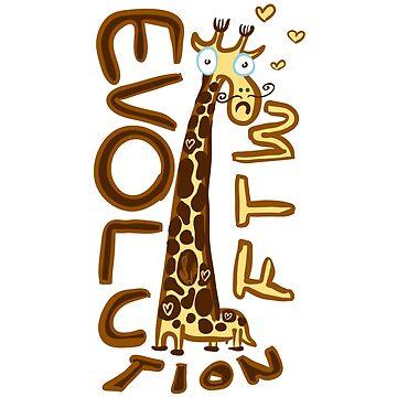 Giraffa camelopardalis von steffenwittig