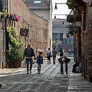 Venice, off to school by Vicki Moritz