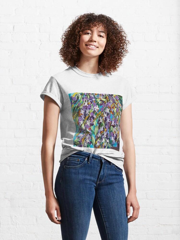 Alternate view of Florida Lilac II Classic T-Shirt