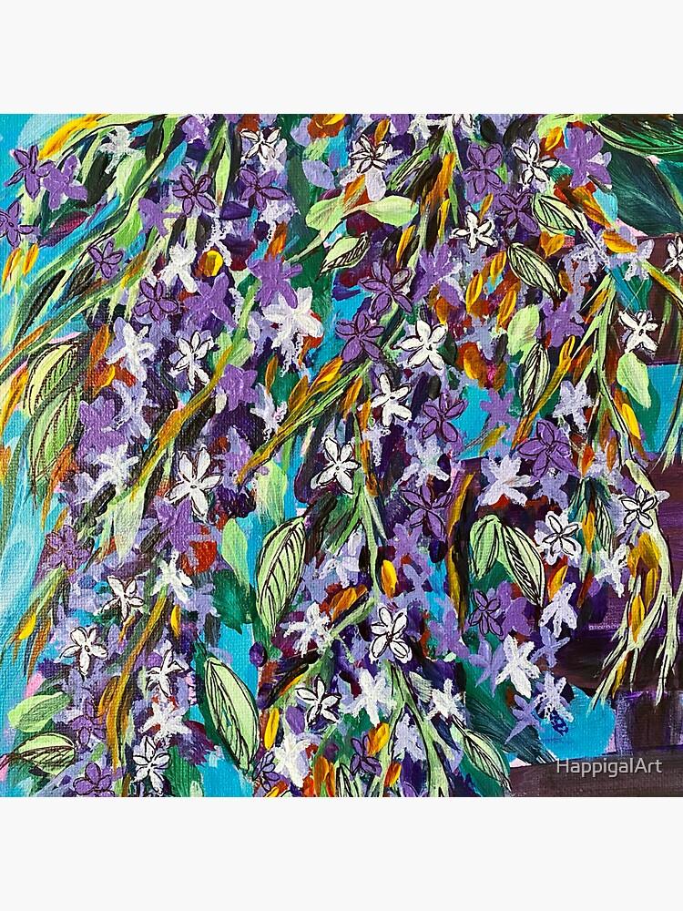 Florida Lilac II by HappigalArt