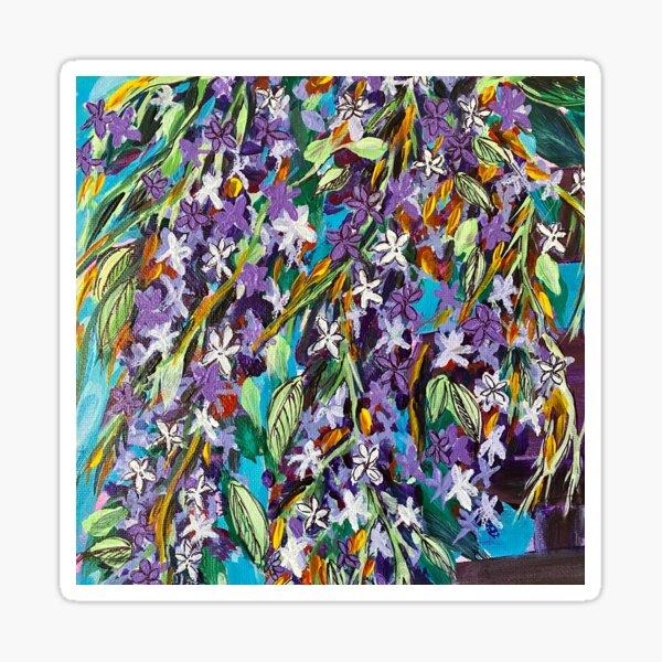 Florida Lilac II Sticker