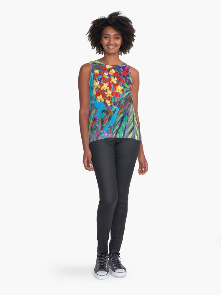 Alternate view of Selby Palms Sleeveless Top