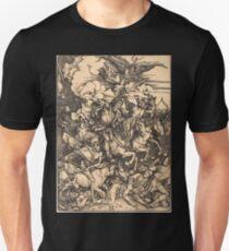 Albrecht Dürer or Durer The Four Horsemen Unisex T-Shirt