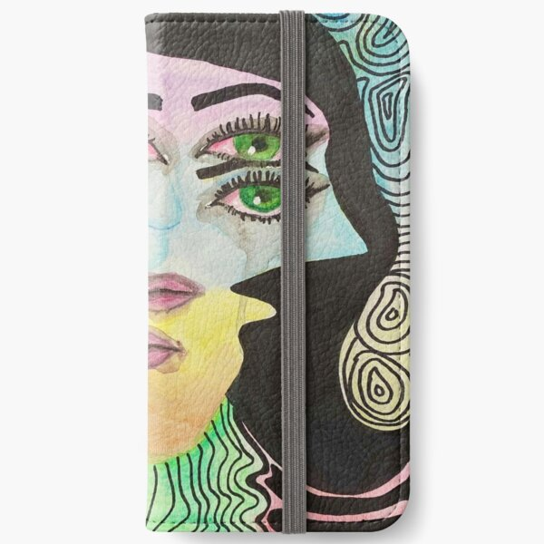 Illusion Girl iPhone Wallet