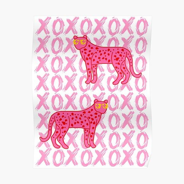 cheetah xoxo Poster