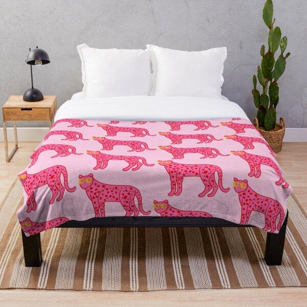cheetah xoxo Throw Blanket