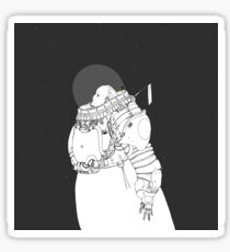 Space Samurai  Sticker
