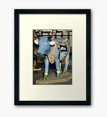 Cow Parade - Shirt Factory Horn, Derry Framed Print